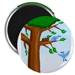 Tree Birds Magnet