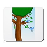 Tree Birds Mousepad