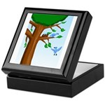 Tree Birds Keepsake Box