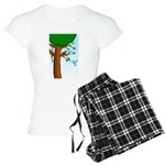 Tree Birds Women's Light Pajamas