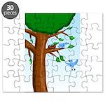Tree Birds Puzzle