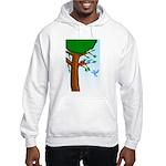Tree Birds Hooded Sweatshirt