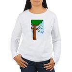 Tree Birds Women's Long Sleeve T-Shirt