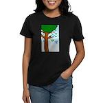 Tree Birds Women's Dark T-Shirt
