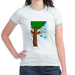 Tree Birds Jr. Ringer T-Shirt