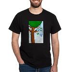 Tree Birds Dark T-Shirt