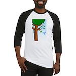 Tree Birds Baseball Jersey