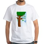 Tree Birds White T-Shirt
