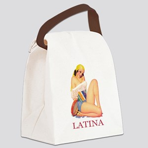 Latina Canvas Lunch Bag