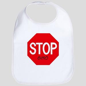 Stop Gino Bib