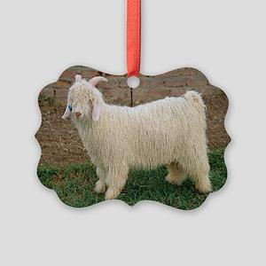Angora goat - Picture Ornament