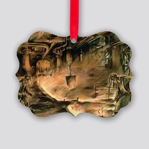 1930s steel industry - Picture Ornament