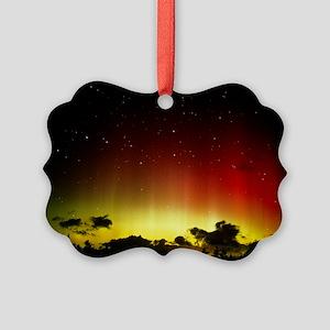 Aurora borealis or northern lights and Ursa Major