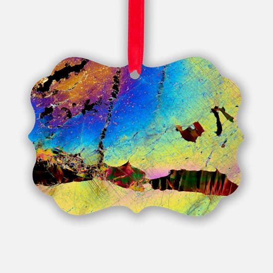 Biotite mineral in orthopyroxene - Ornament