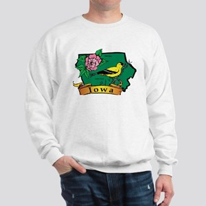 Iowa Map Sweatshirt