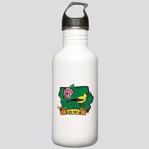 Iowa Map Stainless Water Bottle 1.0L