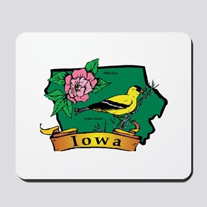 Iowa Map Mousepad