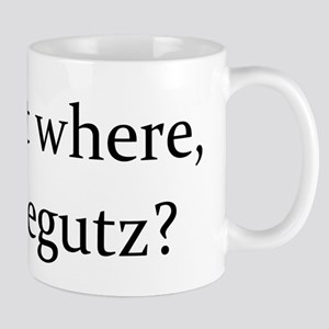 TEXT Stick it where Furblegutz Mug
