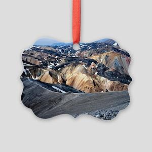 Lava landscape - Picture Ornament