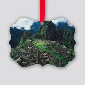 Machu Picchu - Picture Ornament