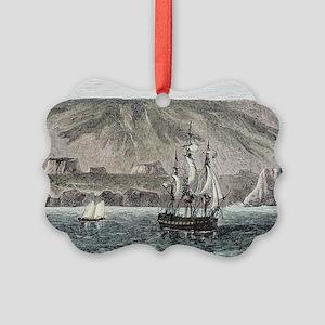 Old Sail ships Galapagos Island Isabela - Picture