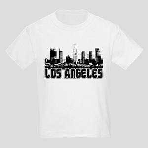 Los Angeles Skyline Kids Light T-Shirt