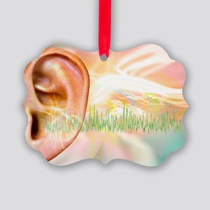 Tinnitus, conceptual artwork - Picture Ornament