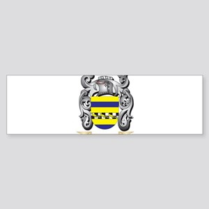 Curtis Family Crest - Curtis Coat o Bumper Sticker