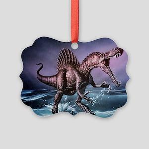 Spinosaurus dinosaur - Picture Ornament