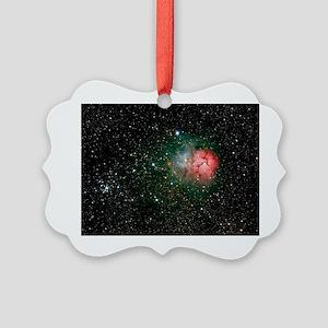 Trifid Nebula - Picture Ornament