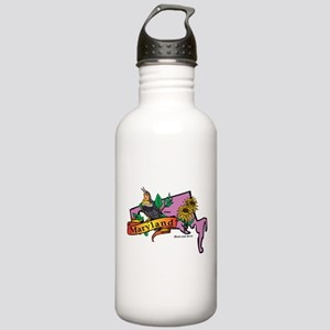 Maryland Map Stainless Water Bottle 1.0L