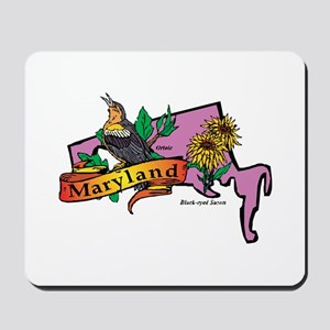Maryland Map Mousepad