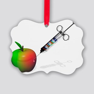 Genetically modified apple - Picture Ornament