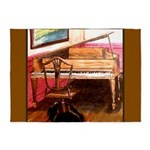 Federal Style Piano and chair 5'x7'Area Rug
