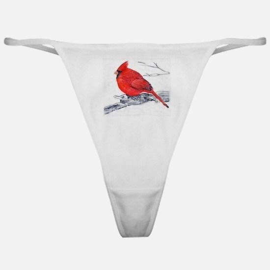 Cardinal Painting Classic Thong