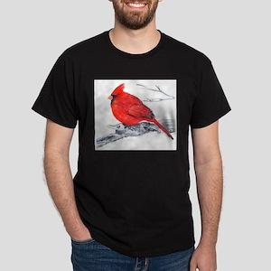 Cardinal Painting Dark T-Shirt