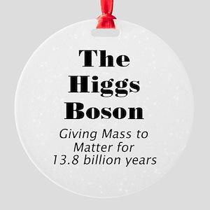 The Higgs Boson Round Ornament