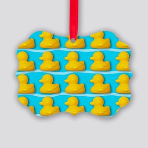 Rubber ducks - Picture Ornament