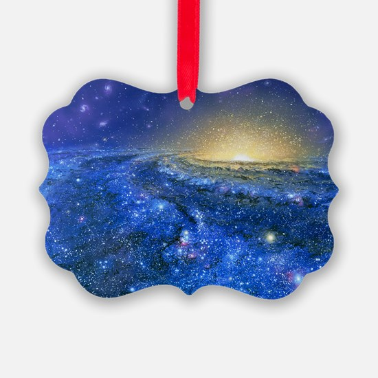 Artwork of the Milky Way, our galaxy - Ornament