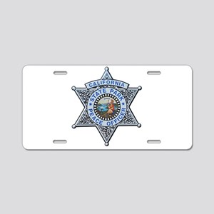 California Park Ranger Aluminum License Plate
