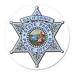 California Park Ranger Round Car Magnet