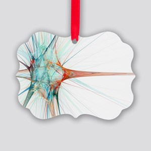 Nerve cell, abstract artwork - Picture Ornament