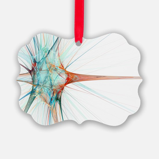 Nerve cell, abstract artwork - Ornament
