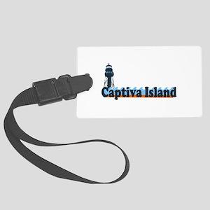 Captiva Island - Lighthouse Design. Large Luggage
