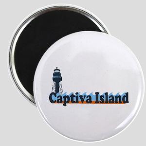 Captiva Island - Lighthouse Design. Magnet