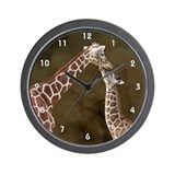 Giraffe Wall Clocks