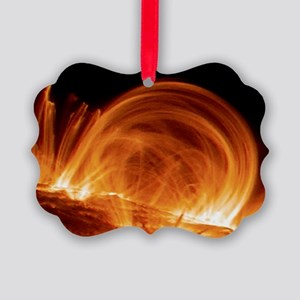 Solar coronal loops - Picture Ornament