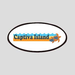 Captiva Island - Beach Design. Patches