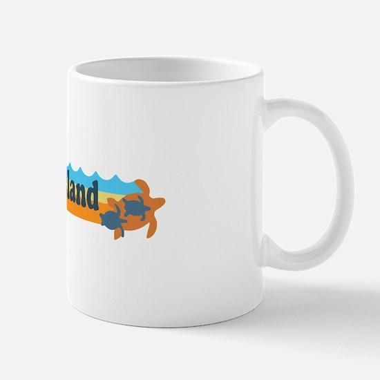 Captiva Island - Beach Design. Mug