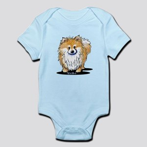 KiniArt™ Pomeranian Infant Bodysuit
